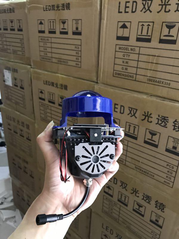 3.0inch Koito Hid Bi Xenon Projector Lens for all car lights blue color 5500K LED Projector lens headlight bulb for auto light mp620 mp622 mp625 projector color wheel mp620 mp622 mp625