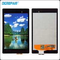 Black For ASUS Google Nexus 7 2nd Gen 2013 LCD Display Touch Screen Digitizer Assembly Replacements