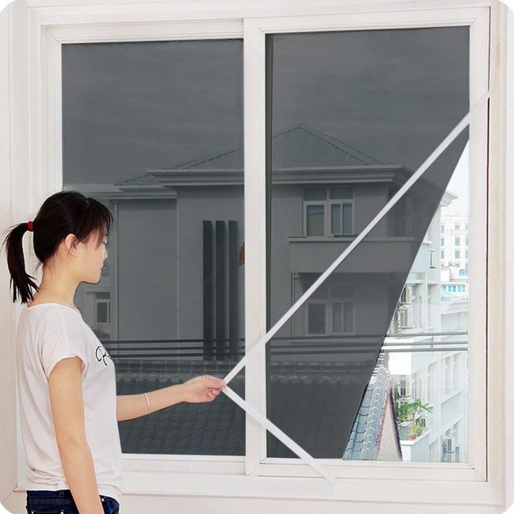 2020 New Indoor Insect Fly Screen Curtain Mesh Bug Mosquito Netting Door Window 2