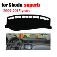 Car Dashboard Cover For Skoda Superb 2009 2015 Years Car Dashboard Accessories Left Hand Drive Dashmat
