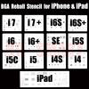 13pcs Lot IC Chip BGA Reballing Stencil Kits Set Solder Template For Iphone 4 4s 5