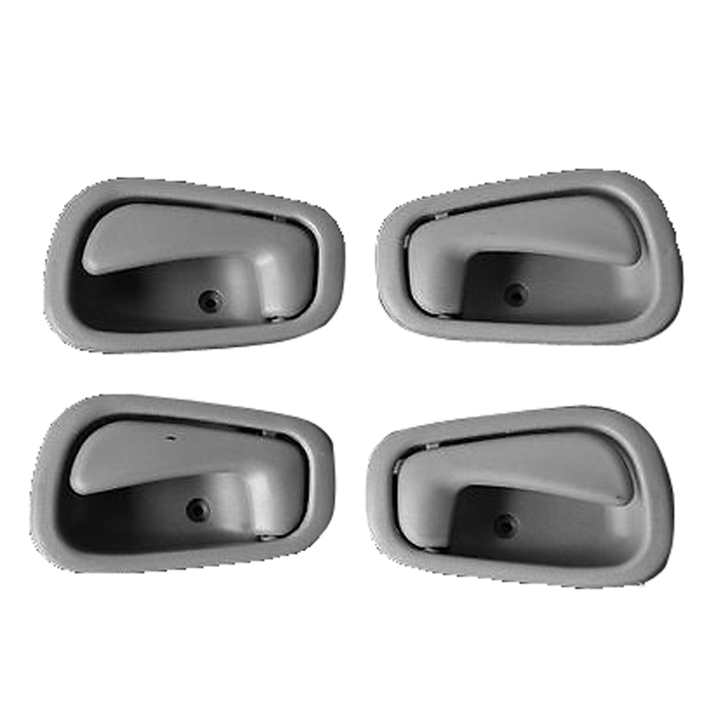 For 98-02 Corolla Front Black Outside Outer Exterior Door Handle Left Driver LH