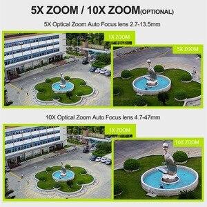 Image 2 - 1080P 3G i 4G Bullet kamera PTZ na zewnątrz 10X Zoom optyczny kamera na kartę SIM 2MP P2P wsparcie Max 128G karta Micro SD do przechowywania