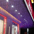 1.5m * 0.5m LED Curtains Garland string lights christmas new year holiday party wedding Home luminaria decoration lamps lighting