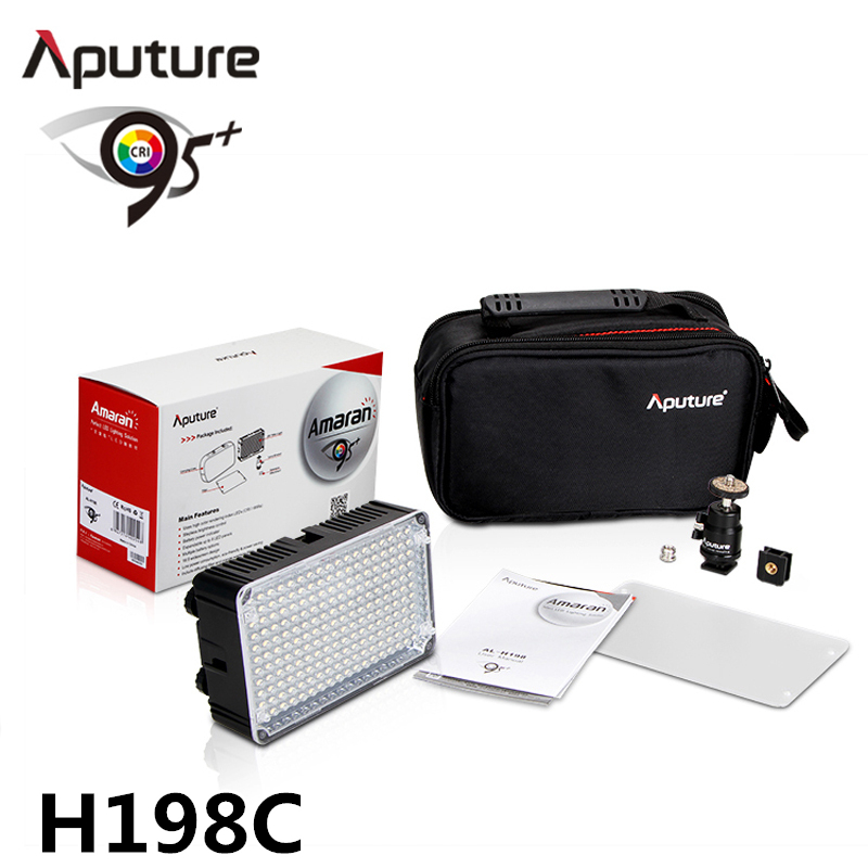 Aputure H198c Amaran CRI 95+ On-Camera Bicolor Temperature Light for Canon Nikon Pentax DSLR Camera Video Camcorder цена и фото