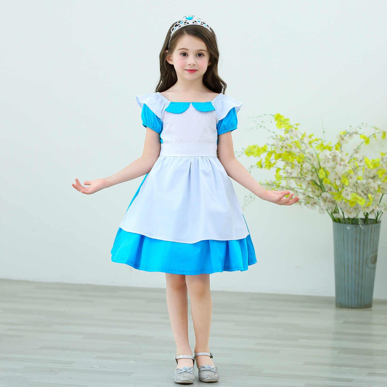 Летние платья с героями мультфильмов для маленьких девочек; белоснежная Золушка София; платье принцессы для маленьких девочек