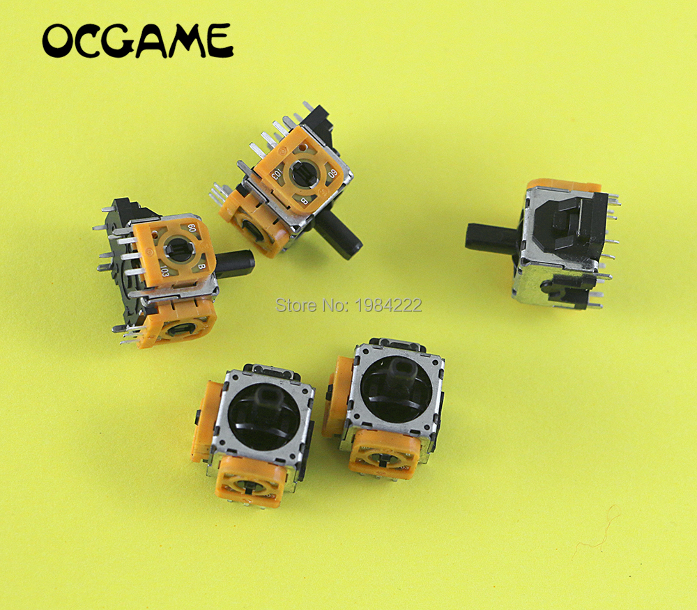 OCGAME 10pcslot Original new 3D Rocker Analog Joystick Replacement for PlayStation 4 PS4 DualShock 4 Wireless Controller