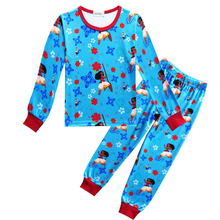2019 New Moana Pajamas Baby Girl Clothes Little Pajama Sets Kids Children Costume Toddler SleepWear 3-10Y