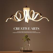 Modern Fashion LED Chandelier restaurant bar creative fixtures personality chandeliers living room  bedroom hanging lights все цены