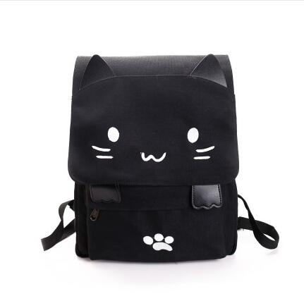 Game Neko Atsume anime backpack male and female students large capacity leisure backpack child birthday gift anime fairy tail cosplay anime shoulder bag male female student travel leisure large capacity backpacker birthday gift