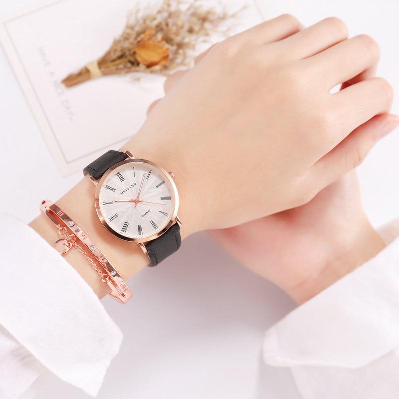 Women Watches 2018 Luxury Brand Leather Strap Simple Style Quartz Wristwatch For Women Fashion Female Clock Relogio Feminino