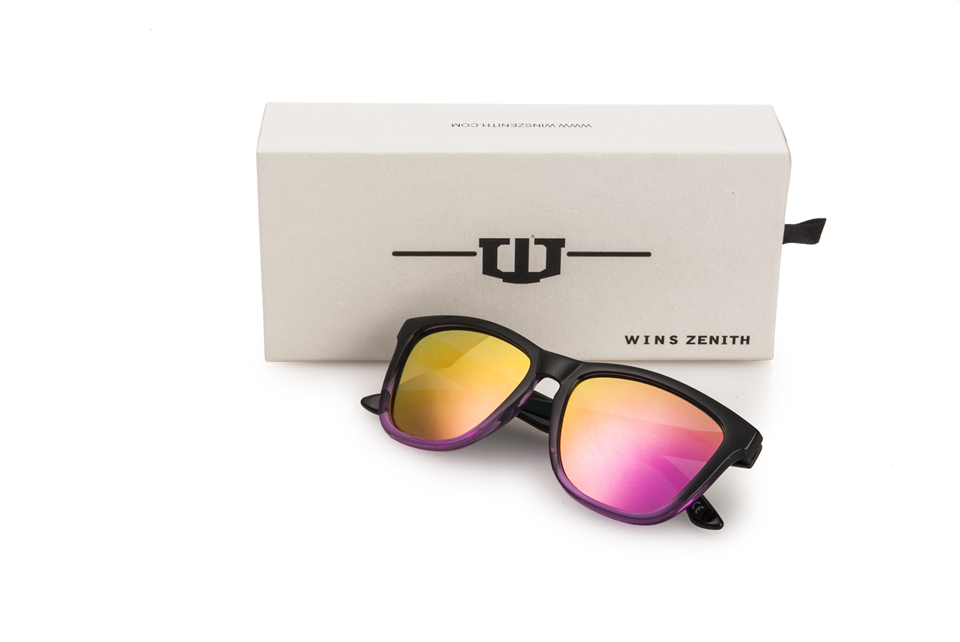 f70e0f04bc8ba Winszenith 95 Novos óculos de sol dos homens óculos óculos de sol dos homens  óculos retro quadro grande clam atacado 15 peça
