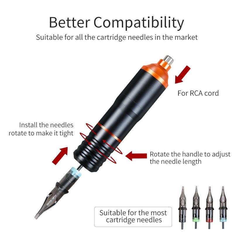 Powerful Tattoo Pen Rotary Tattoo Gun Machine Aluminum Alloy Electric RCA Motor Tattoo Machine For Tattooist Hot Cheap