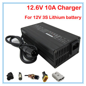 240 w 12.6 v 10a carregador de bateria de lítio 12 v 10a adaptador de energia para 3 s 10.8 v 11.1 v 12 v li-ion bateria