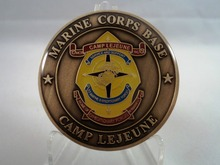 Hot sales USMC Camp Base Challenge Coin Marine United States Corps army coin High quality Custom metal coins  FH810202 the united states marine corps workout rev