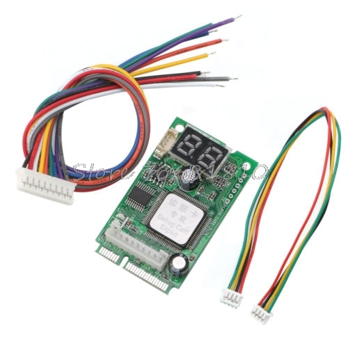 Laptop PCI PCI-E Analyzer Tester Diagnostic Post Test Card for COMPAL Z09 Drop ship