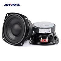 AIYIMA 2Pcs 4 inch 50W Subwoofer Audio Speaker Portable Mini Stereo 4 Ohm 8Ohm Speakers Woofer Full Range Car Horn Loudspeaker