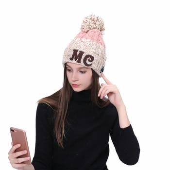 Fashion Wireless Bluetooth Knit Caps Winter Outdoor Sport Headphones Hat Music Cap Earphone for iPhone Smart Phone