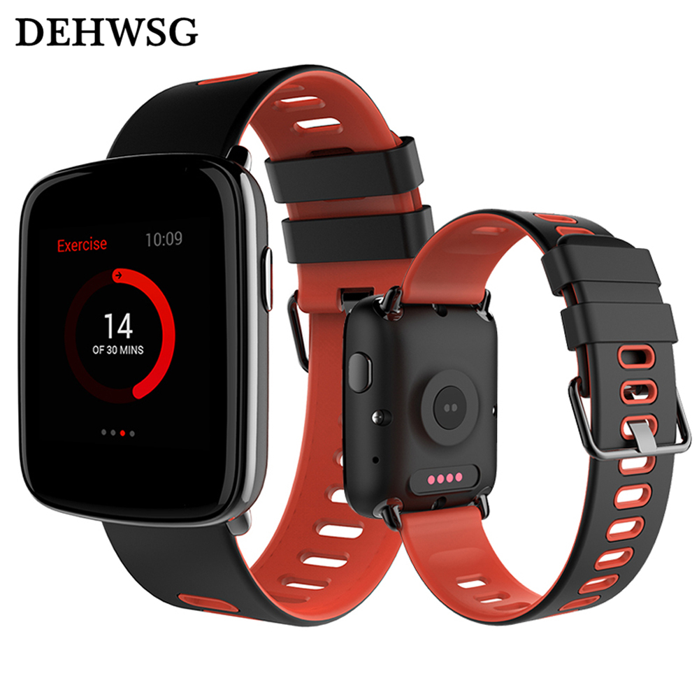 DEHWSG New arrival Smart watch MTK2502 Waterproof IP68 smartwatch Support Heart rate monitor swimming Passometer For IOS Android new arrival smart watch bluetooth waterproof for android health heart rate monitor with hd display fitness watch passometer