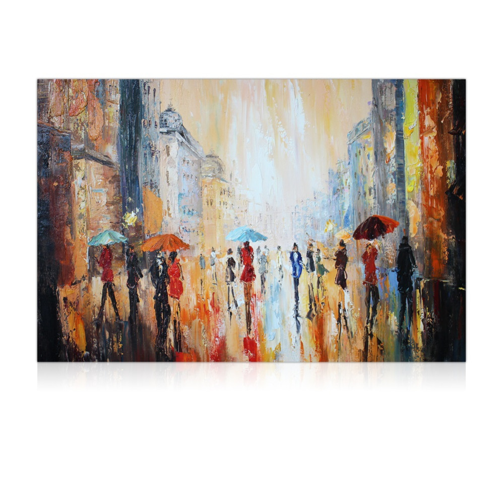 Buy iarts textured painting handmade wall for Textured acrylic abstract paintings