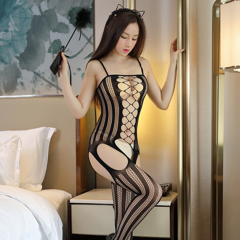 Plus Size Sexy Lingerie Hot Open Crotch Mesh Erotic Underwear Women Porn Teddy Babydoll Sex Costumes Lenceria Erotica Mujer Sexi