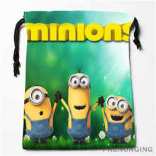 Custom Minion Drawstring Bags Printing Fashion Travel Storage Mini Pouch Swim Hiking Toy Bag Size 18x22cm #171208-17
