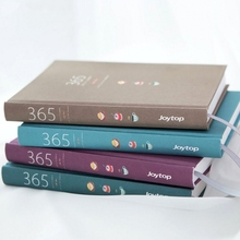 かわいい文房具のノートブック 365 プランナーかわいい A5 毎週毎月毎日日記プランナー 2019 ノートブックやジャーナル学用品