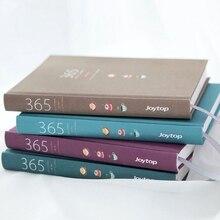 Śliczne zeszyt 365 Planner Kawaii A5, tygodniowy, miesięczny, i zapisywanych codziennie Planner 2019 notesy i czasopisma szkolne