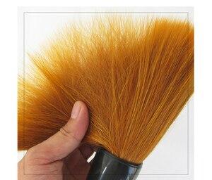 Image 5 - Brosse en forme de trémie fouine cheveux écriture brosses ours brosse à cheveux Script régulier Festival Couplets peinture calligraphie stylo brosse