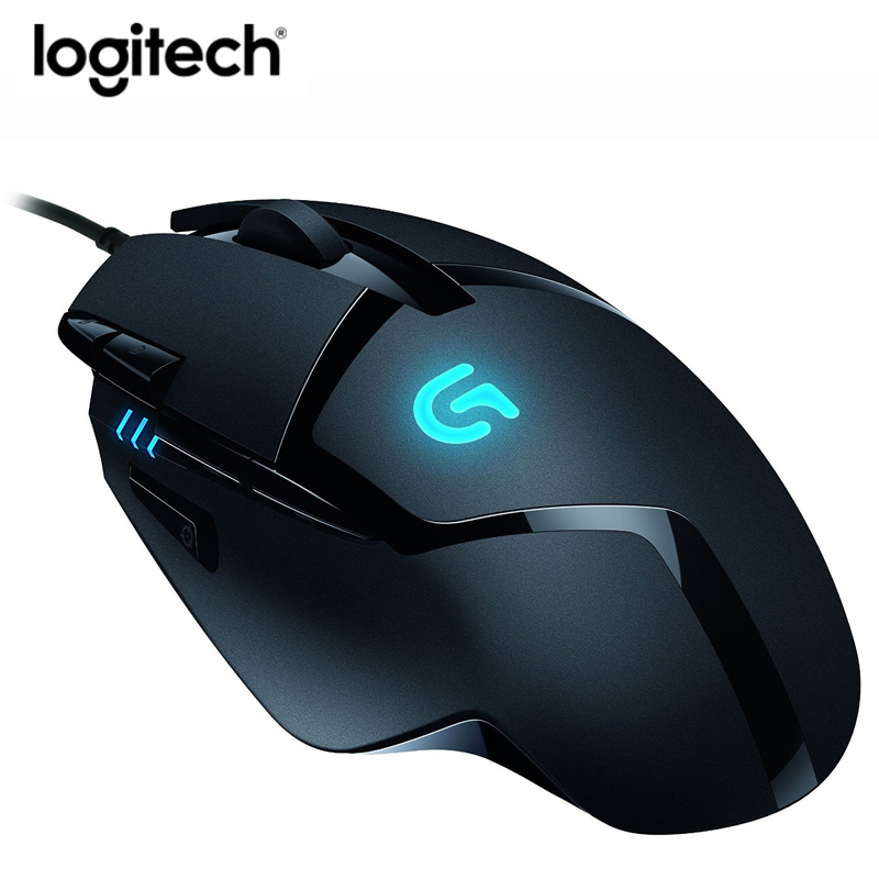 Logitech G402 Hyperion Fury FPS Gaming Mouse with Optical 4000DPI High Speed Fusion Engine-in Mice from Computer & Office    2