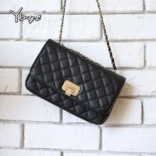 2019new fashion shoulder bags for women casual diamond lattice female messenger bag luxury handbags chain crossbody