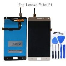 100% o trabalho de teste para Lenovo Vibe P1 display LCD touch screen substituição de componentes para Lenovo Vibe P1 display LCD + ferramentas