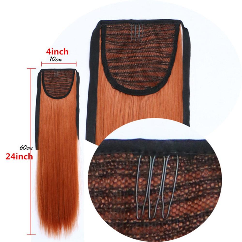 Feibin Галстук на Хвост наращивание - Синтетические волосы - Фотография 3