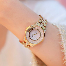 New hot-selling watch high-end link dial movable rhinestones without digital scale female Fashion & Casual  Chronograph