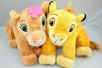The Lion King Baby Simba And Sweetheart Nala Plush Toy Valentine S