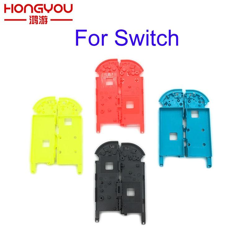 Для переключателя внутренней рамки аккумулятора Замена правой левой средней рамки для переключателя Nintendo Joy-Con Controller Держатель батареи