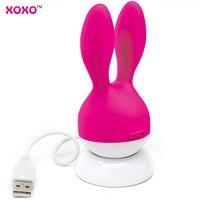 Japan USB Recharge Rabbit Vibrator Sexo Dildo vibrador feminino Bunny Ears Vibrator Sex Toy for Couple Vibrator Female sex