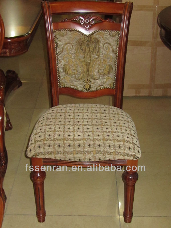 ФОТО Family dining chair, hotel dining chair, wood dining chair,European style