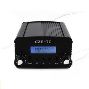 Image 4 - 1W/7W Stereo Pll Fm zender Uitzending Radio Station CZE 7C 76 108 Mhz + Tnc Antenne + Voeding + Audio Cabel