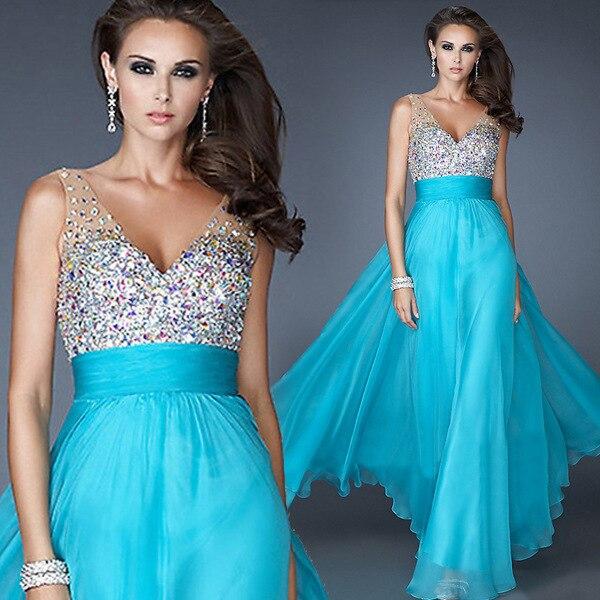 2015 Summer Dresses Long Chiffon Plus Size Bridesmaid Dresses ...