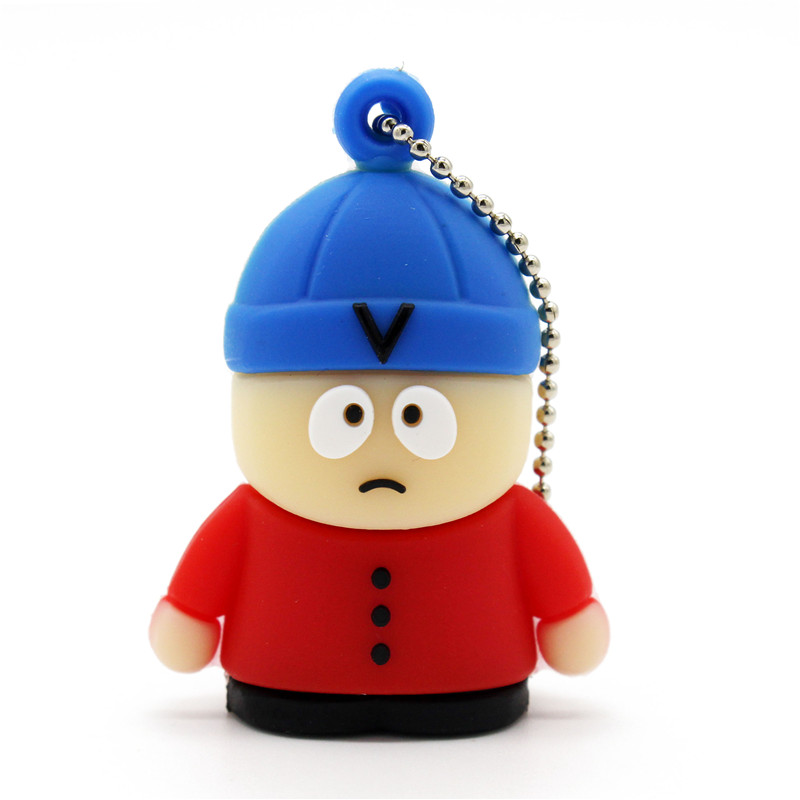 Binful Cute Blue Hat Baby Model Pen Drive Cartoon Usb Flash Drive 4gb 8gb 16gb 32gb 64gb Usb Flash Drive Pendrive Pleasant To The Palate Usb Flash Drives