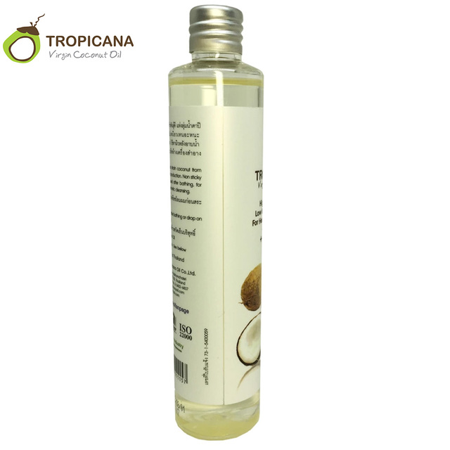 100% Natural Organic Cold-Pressed Extra Virgin Coconut Oil