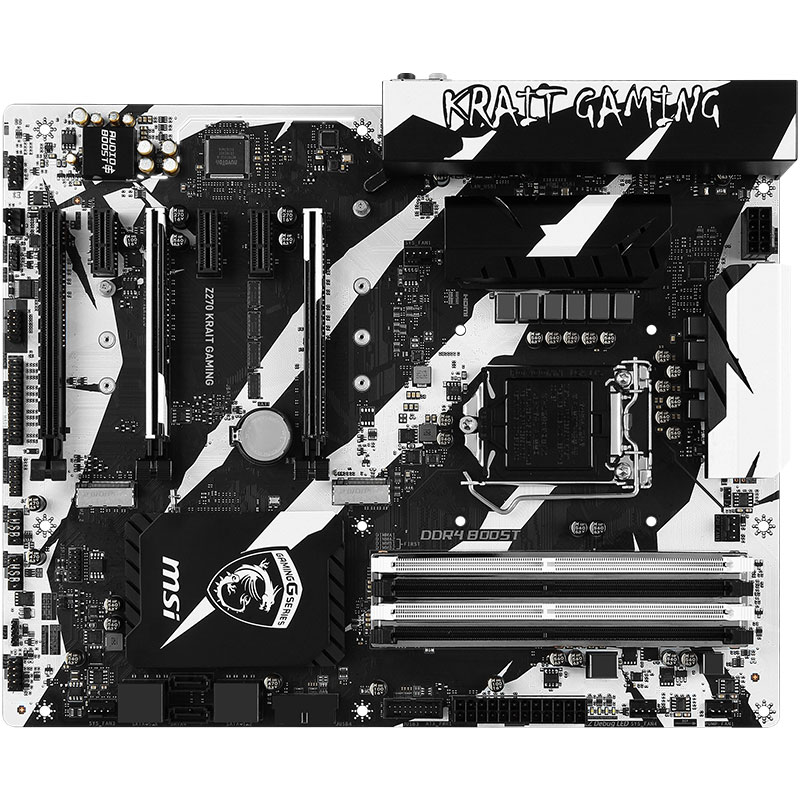 MSI Original Z270 KRAIT GAMING Computer Motherboard I7-7700K 6700K