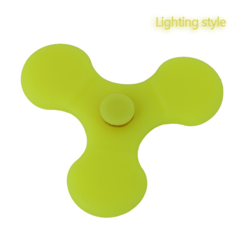 Luminous EDC Hand Spinner Hand Finger Spinner Fidget For Autism and ADHD Relief Focus Anxiety Stress Gift Fidget Toys