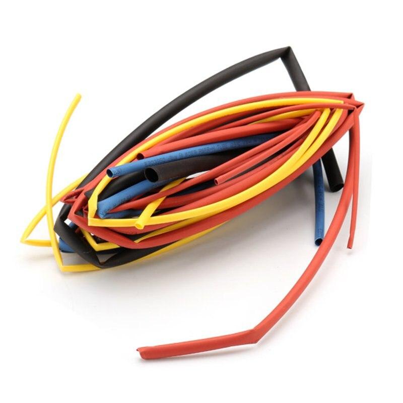 328 Stücke Schrumpf Schlauch Isolierung Schrumpf Schlauch Sortiment 2:1 Schrumpfschlauch Bunte Wrap Draht Kabel Hülse Diy Kit Elektronische Zubehör & Supplies