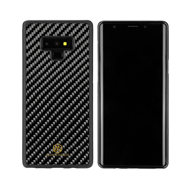 Mcase Anti-Slide for Samsung Galaxy Note 9 Case Back Cover Luxury Real Carbon Fiber Case for Samsung Note 9 Case 6.4inch