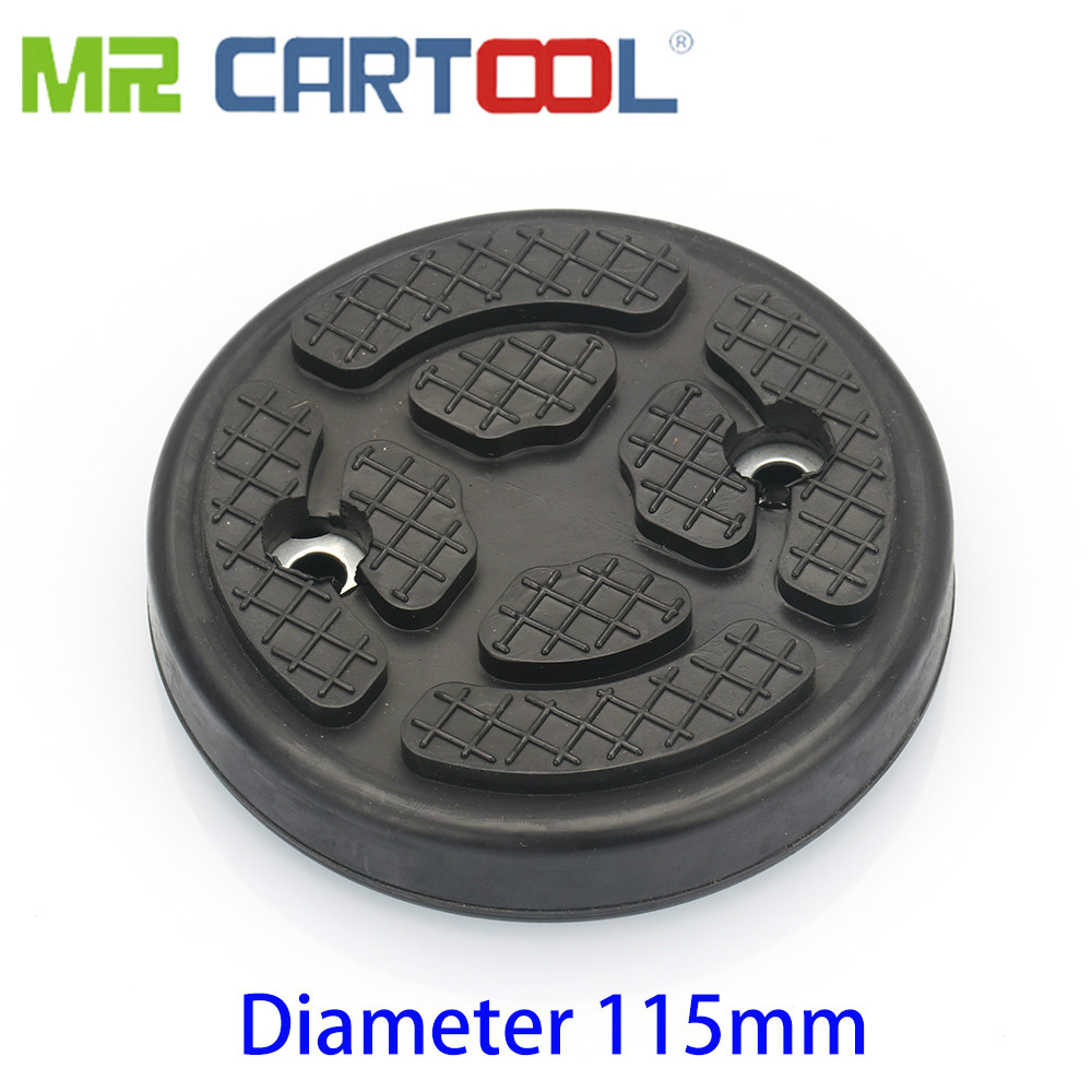 Mr Cartool Rubber Jacks Pad Lift Round Arm Pads Diameter 115mm For Automotive 2-Post Car Lift