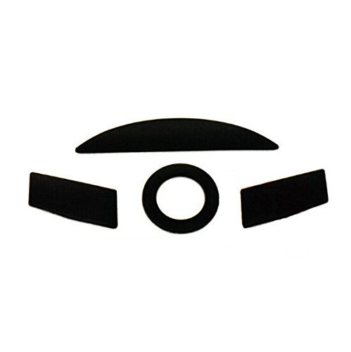 Replacement Parts PTFE Teflon Tape Computer Gaming Mouse Feet Sliders Pads Skates Fast for <font><b>Razer</b></font> <font><b>Taipan</b></font>( Pack of 2 , 0.5mm) image