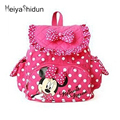 MeiyaShidun cute animal Cartoon kids backpack Minnie Mouse Girls Backpacks Children's School Bag mochila kindergarten Baby gifts
