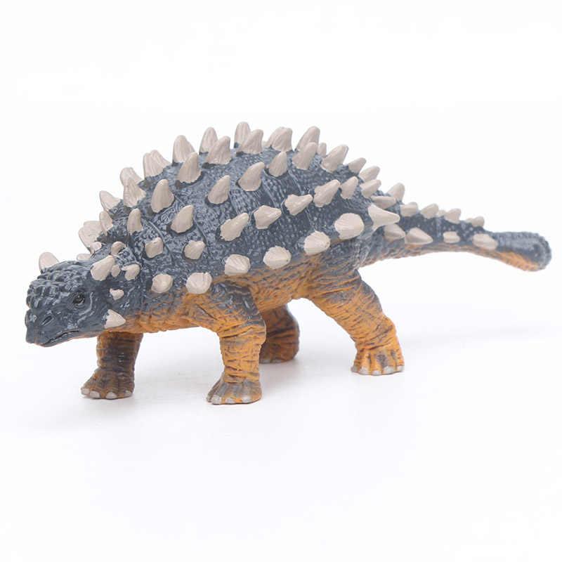 Pentacerato Plastic Modelo Coleção Figuras de Animais Dinossauro Carnotaurus Dinossauro Triceratops Stegosaurus